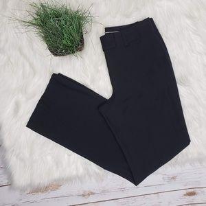 Ann Taylor Black Wool Blend Dress Pants Size 2
